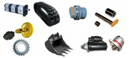 Baumaschinen ersatzteile online shop
